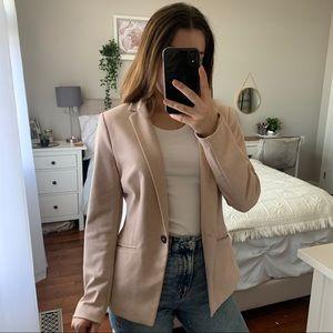 H&M Pink Single Breasted Blazer